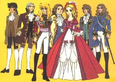 rose of versailles, lady oscar, marie antoinette