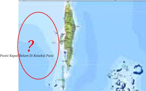 Diterima Laporan, KM. Musdalifah, Hanyut Di Sebelah Barat Pulau Selayar