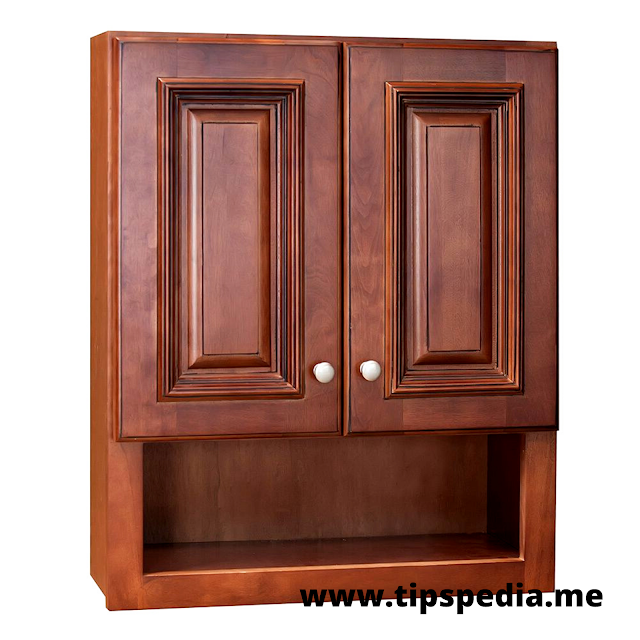 maple bathroom wall cabinet
