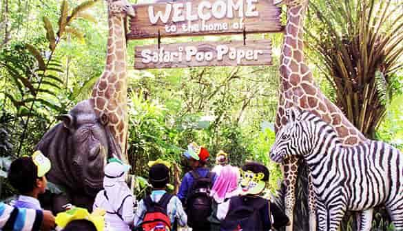 Lokasi wisata Taman Safari di Bali paling bagus untuk anak