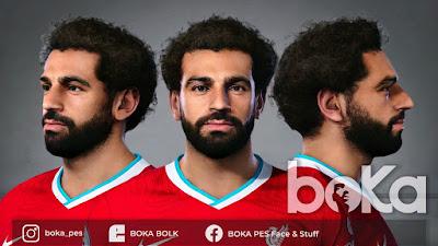 PES 2021 Faces Mo Salah by Boka