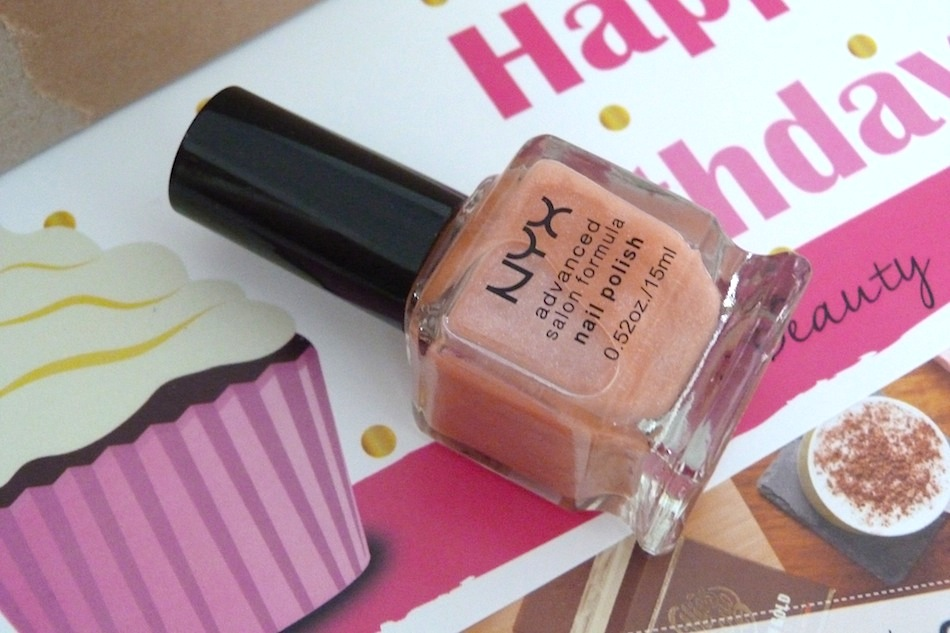 an image of nyx cosmetics advanced salon formula nail polish in winter