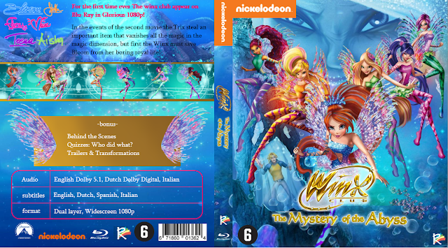 Winx Club: The Mystery of the Abyss (2014) BluRay [Hindi-English] Dual Audio Download 480p, 720p & 1080p HD