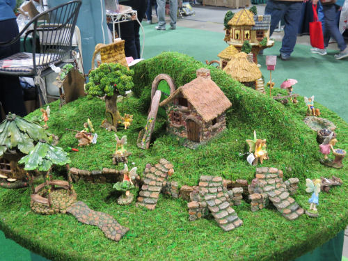 Fort Wayne Home and Garden Show fairy village