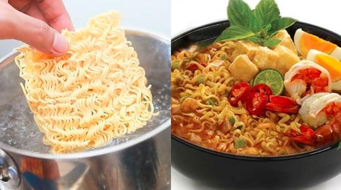 5 Cara membuat mie instan jadi lebih sehat dan bergizi