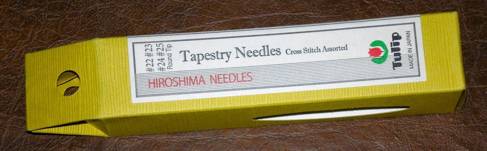 Sizes 18 20 22 /& 24 Japanese Hand Sewing Needles Tulip Chenille Needle Assortment