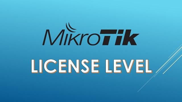 Perbedaan Setiap Level Lisensi MikroTik