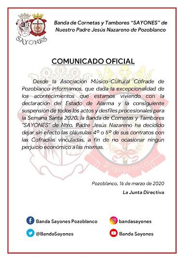 📣 | COMUNICADO OFICIAL | CLÁUSULAS CONTRATOS | 📣