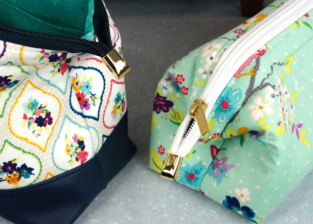 Emmaline bags brand metal zipper ends.
