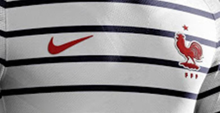 e498227e1 Argentinian Graphic designer Casa Bruni has created Nike France 2018  concept Kit, if Pre-Match shirt was actually the Away.