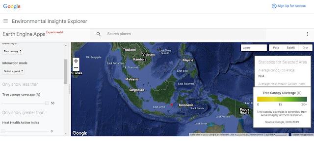 Google Meluncurkan Alat Pemetaan Pohon Untuk Membantu Pendinginan Kota