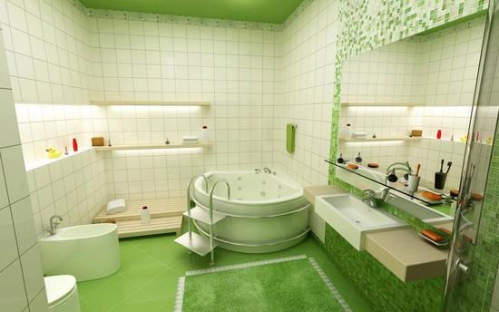 Xu hướng chọn gạch ốp lát phòng vệ sinh 2016