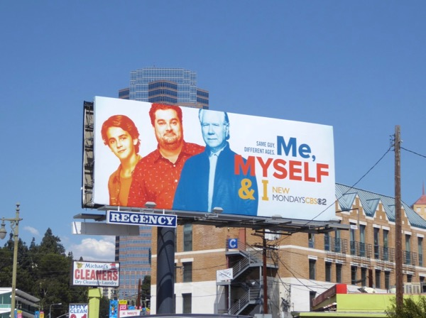 Me Myself I series launch billboard