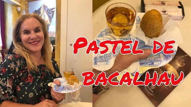 pastel de bacalhau Lisboa Portugal