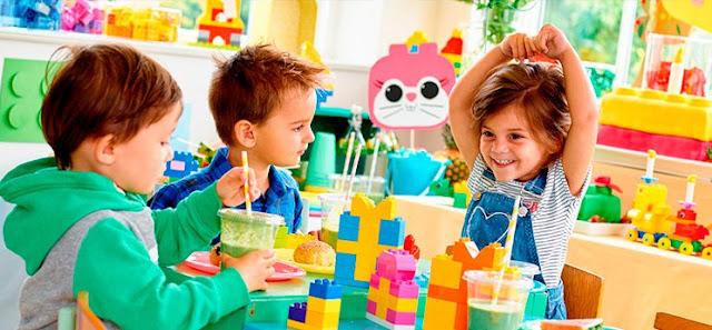 fête d'anniversaire  enfants entre 4 et 8ans