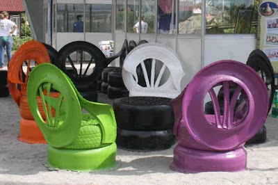 Ideas How To Use Old Tires (33) 18