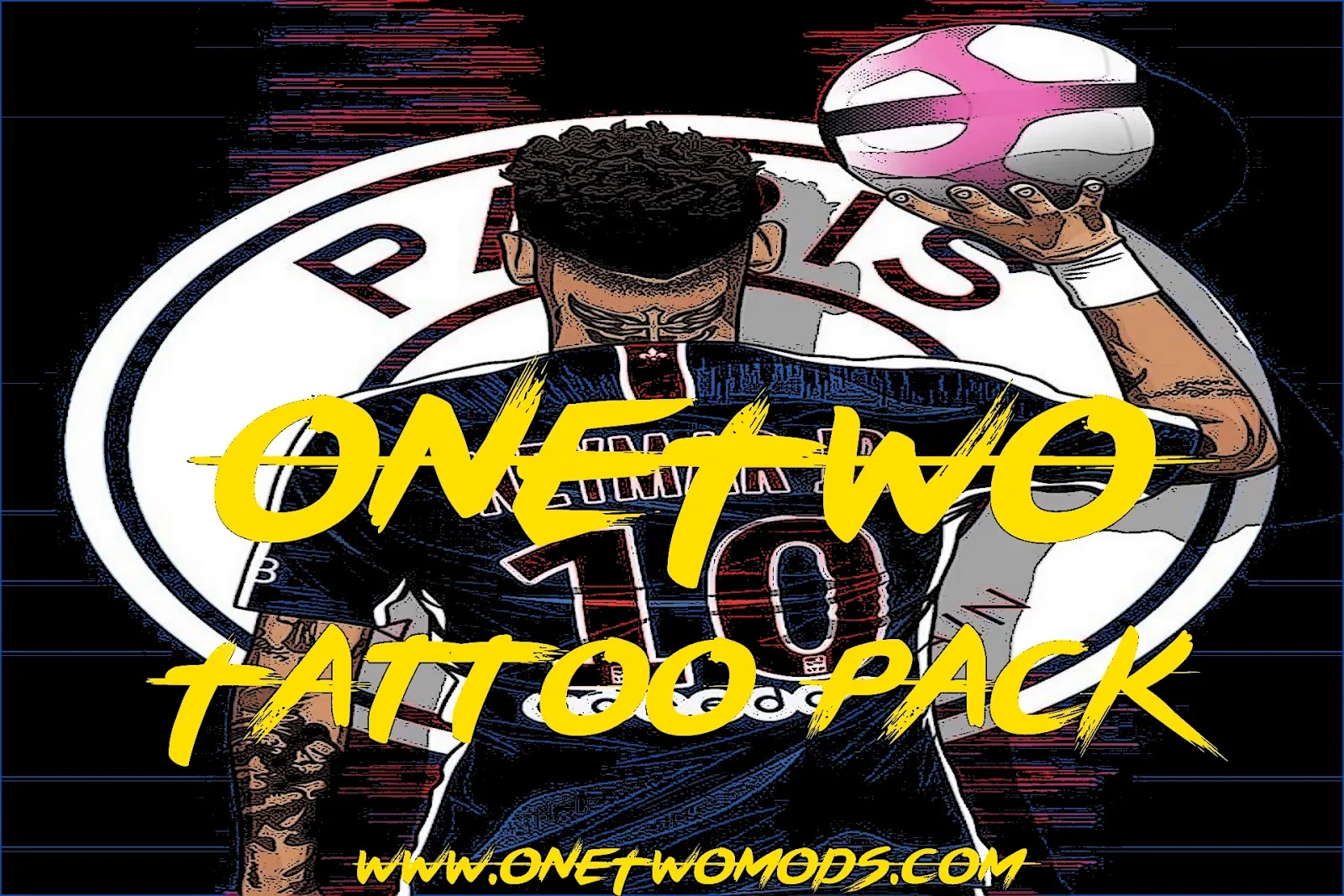 الاصدار الشامل من باك تاتو وان توو الجديد - ONE TWO Tattoo Pack 900 AIO