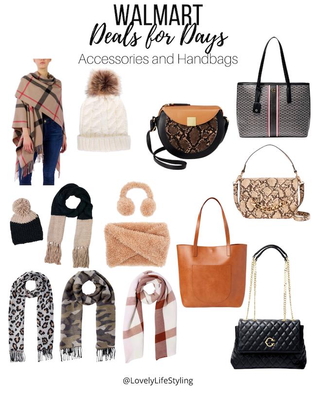 Walmart accessories and handbags