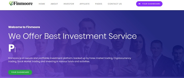 Finmoore.biz Review: Paying Investment Project! Earn 130% Profit After 1 Day, Instant Withdrawals