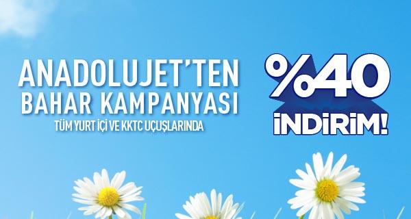 AnadoluJet Bahar Kampanyası
