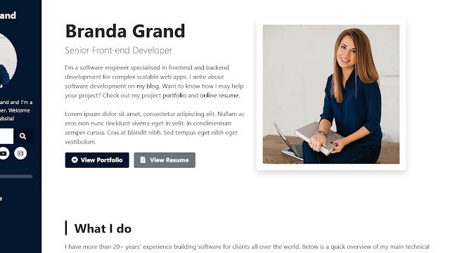 Branda Grand Blogger Theme