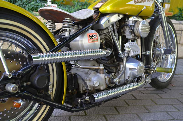 Harley Davidson Shovelhead 1971 By Moon Custom Cycle Shop Hell Kustom
