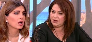 Μαρία Φιλίππου σε Σταματίνα Τσιμτσιλή: «Δεν περίμενα από σένα να μου κάνεις αυτή την ερώτηση…»