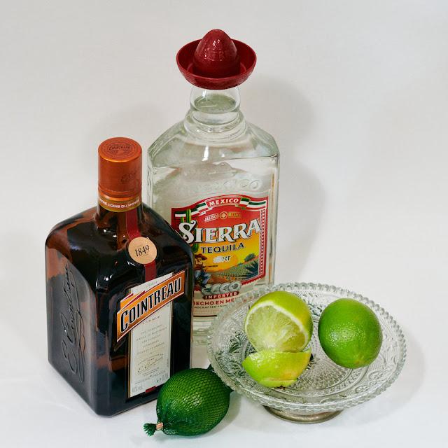 ingrediënten van een Margarita