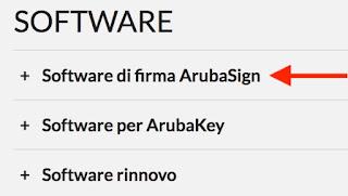 link download aruba sign file p7m