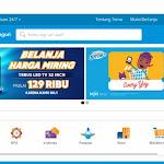Download Template Blogger Mirip Blibli com Premium untuk Bisnis