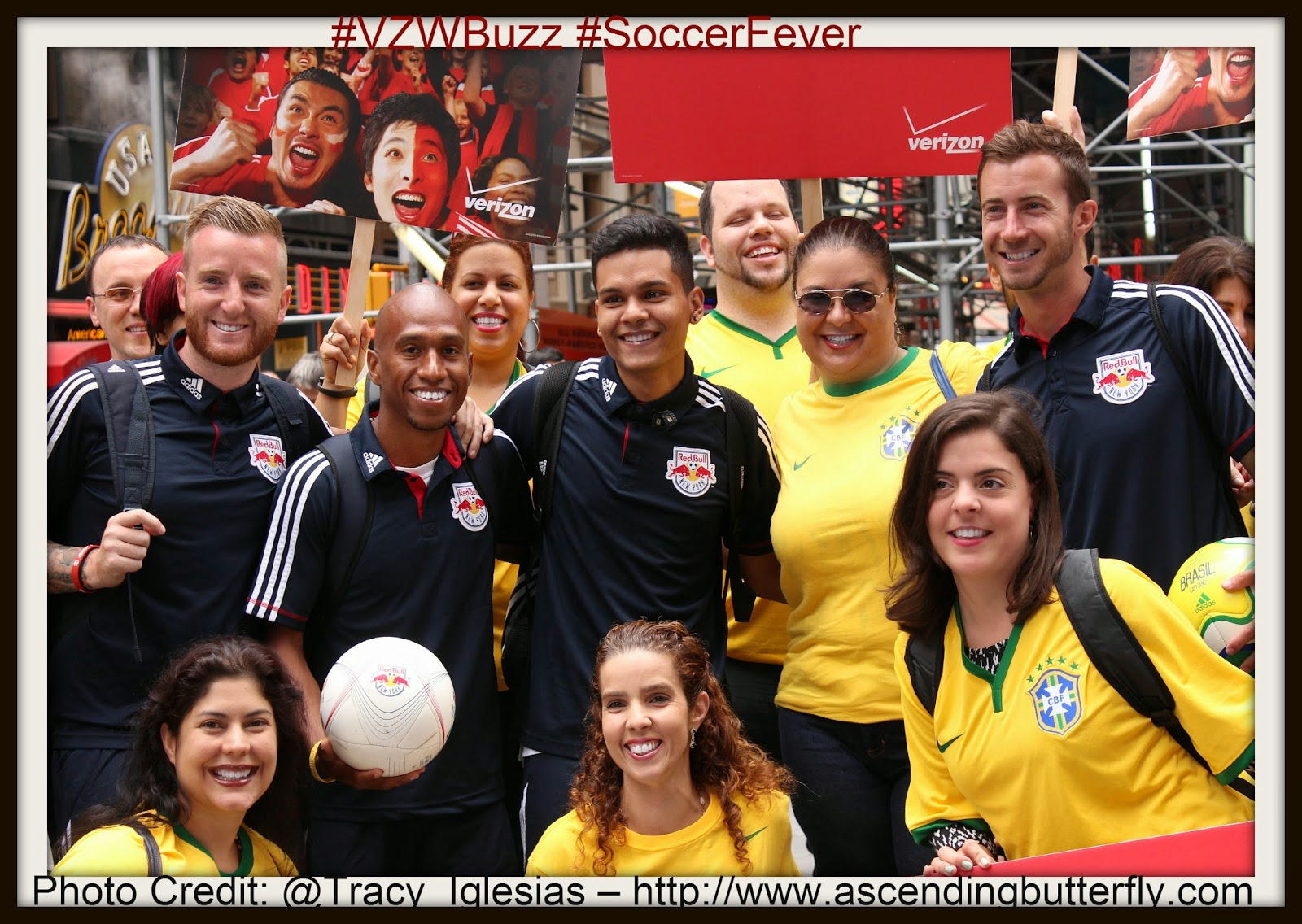 The New York Red Bulls and New York Based Bloggers #VZWBuzz #SoccerFever