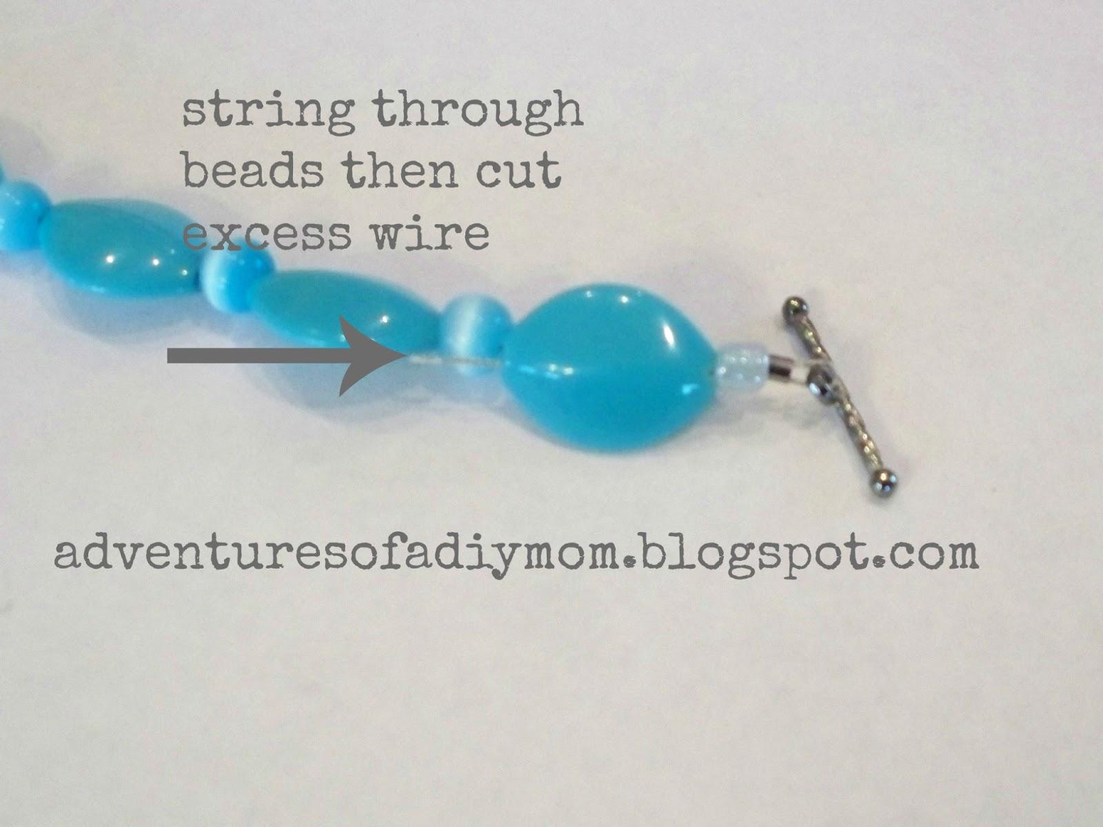 How to Make a Bracelet - Adventures of a DIY Mom