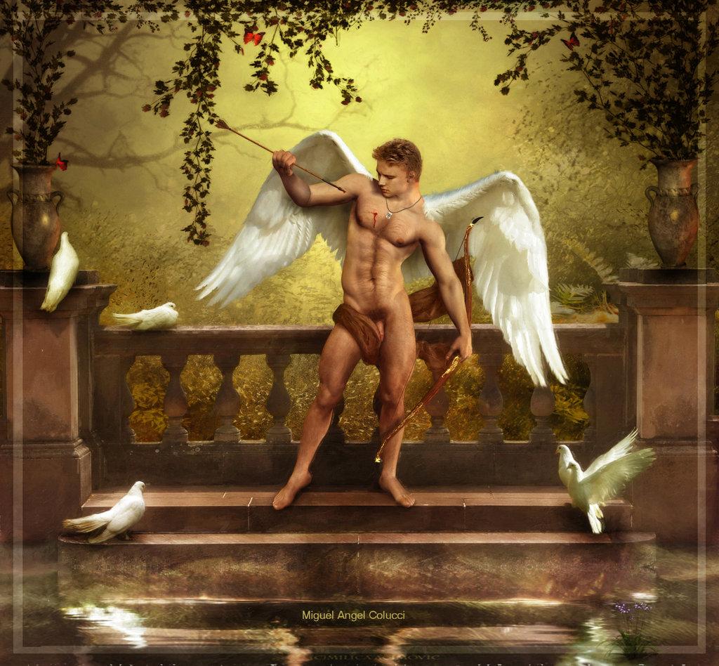Greek god of love eros
