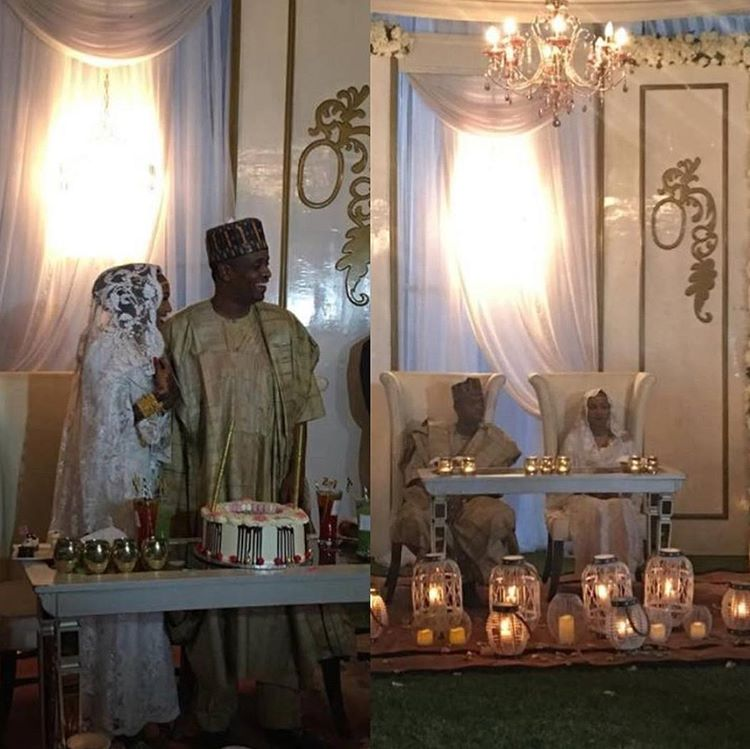 Beautiful Pictures From Zahra Buhari & Ahmed Indimi's Lavish Wedding