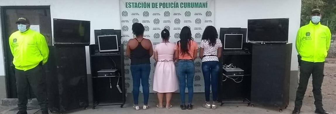 hoyennoticia.com, En Curumaní cayeron 'Las Moneditas'