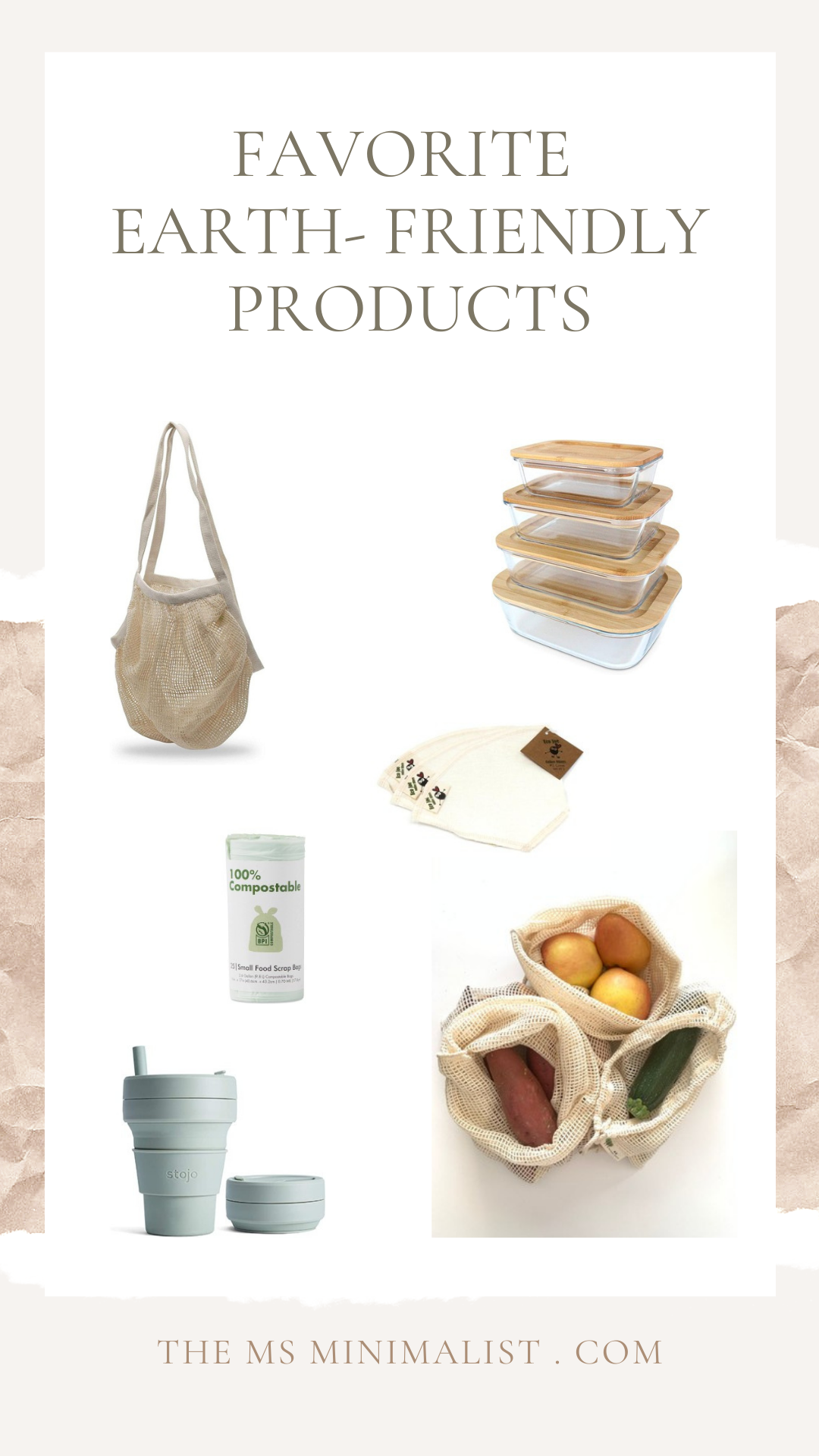 The MsMinimalist Earth-Friendly Product Guide