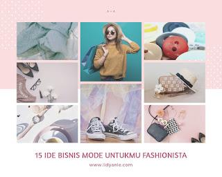 15 ide bisnis mode untuk fashionista di indonesia