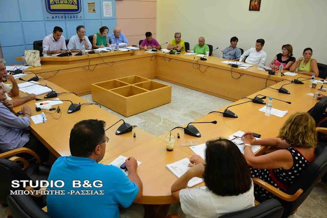 Συνεδριάζει το Δημοτικό Συμβούλιο στο Ναύπλιο με 18 θέματα