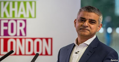 sadiq khan walikota london muslim pertama