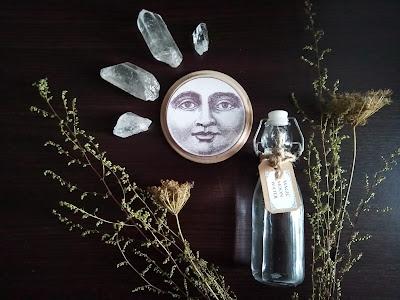 Woda księżycowa, magia, moon water, magic, witchcraft