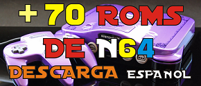 Mas de 70 Roms de Nintendo 64 en Español