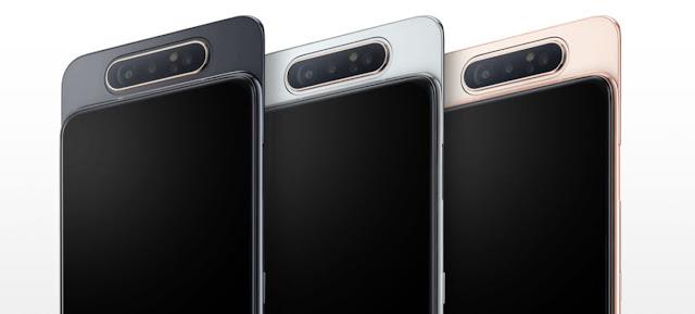 Kamera Samsung Galaxy A80