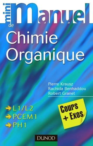 [PDF] Télécharger Livre Gratuit: Mini-manuel de chimie organique: cours et exercices avec solutions
