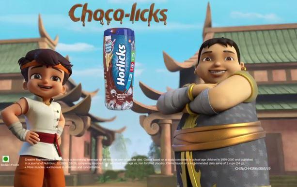 Chocolate Horlicks partners with popular toon character - Chhota Bheem