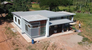 แบบบ้านชั้นเดียวพร้อมราคาก่อสร้าง