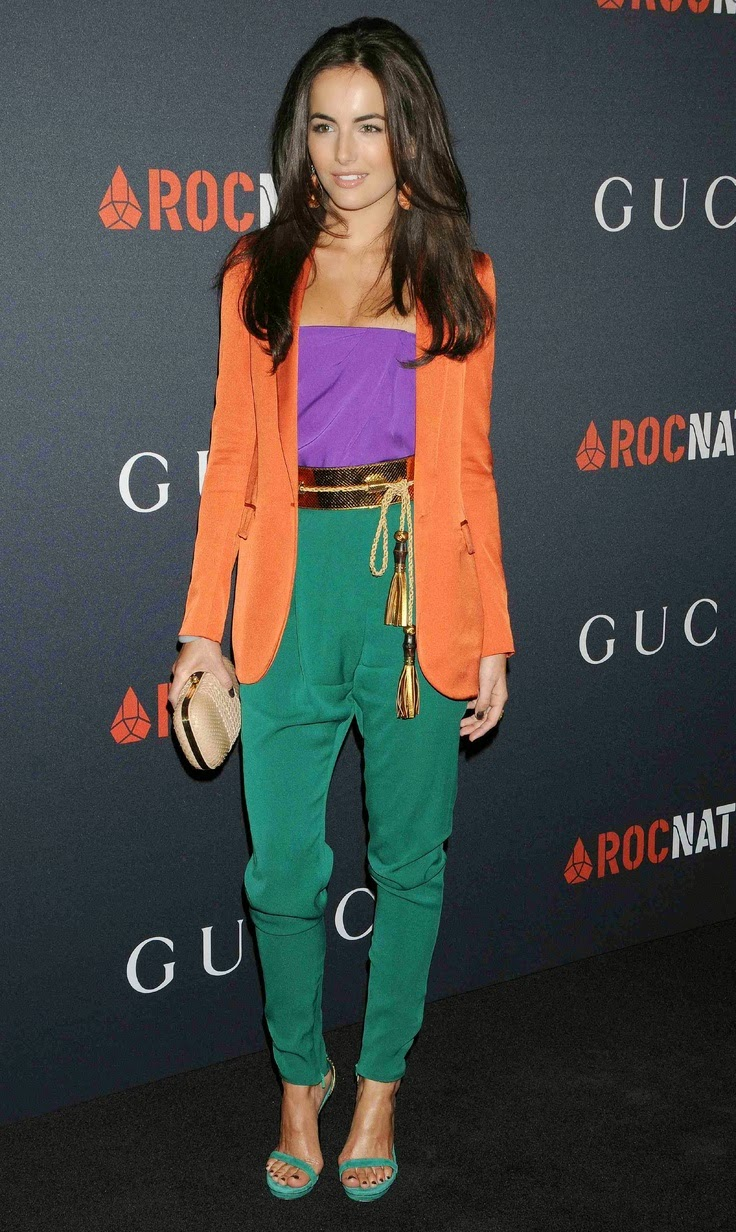 Camilla Belle Sporting Secondary Colours From The Gucci Collection 2011