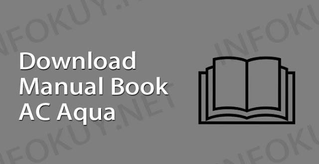 download manual book ac aqua