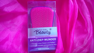 Anti Ziep Haarbürste in verpackung