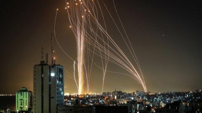 Iron Dome Israel Semakin Tak Berdaya Hadapi Gempuran Roket Hamas, Warga Israel Sembunyi ke Bunker-bunker