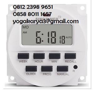 Jual Timer Digital 220V LCD Programmable di Jakarta
